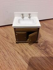 Dolls House Furniture - Bathroom Free Standing Basin Unit
