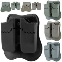 Double Stack Magazine Pouch Mag Holder For Beretta PX4/H&K P30/USP Compact(9/40)