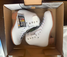 Jackson 2450/2451 Debut White Figure Boot (Boot Only) New In Box