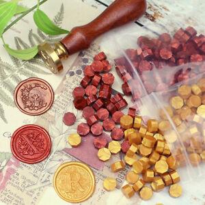 100Pc Sealing Wax Beads Stamp Vintage Crafts Wedding Invitation Envelope Making
