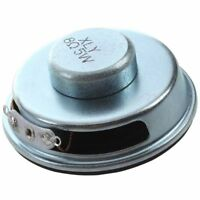 "50mm 2"" Dia. Magnetic Type Aluminum Shell Round Speaker 8 Ohm 5W Z1F7"