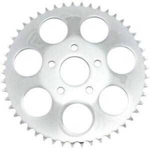 "Drag Specialties Chrome 48 Tooth .23"" Offset Rear Wheel Sprocket Harley Big Twin"