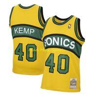 SHAWN KEMP 1994-95 Seattle SUPERSONICS Mitchell & Ness RELOAD Swingman Jersey