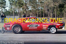 """Ohio"" George Montgomery ""Turbo"" BOSS ""429"" 1968 Ford Mustang Gasser PHOTO!"