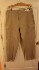 Men's Tan Cintas BDU Cargo Tactical Uniform Work Pants Size 37x32 d2