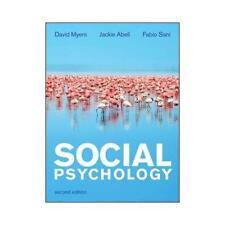 Social Psychology by David Myers, Jackie Abell, Fabio Sani
