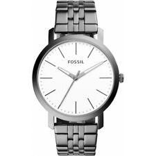Fossil Herren Uhr Armbanduhr BQ2313 silber weiß Neu