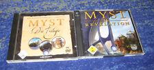 Myst Complete I - IV  PC alle Deutsch MYST 1 - 4 PC kpl. Deutsch