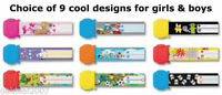 Re useable Kids ID Wrist Bands wristband lost children holiday school parties