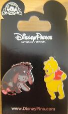 Disney Winnie the Pooh - Pooh and Eeyore 2 Pin Set - New on Card