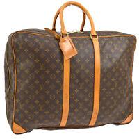LOUIS VUITTON SIRIUS 50 TRAVEL HAND BAG PURSE MONOGRAM M41408 SP0975 BT17127