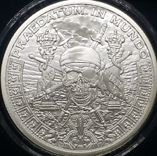 1 - OZ - PURE 999 SILVER - PIECES of EIGHT - ROUND -LIMITED & SCARCE- $9.99 -BID
