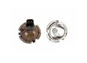 Set of 2 Headlight Halo Ring Bulb with Socket (Angel Eye bulb) HELLA for BMW
