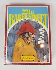 NIB  221B BAKER STREET 1977 Master Detective Board Game, Sherlock Holmes H-23