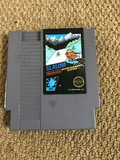 Slalom Black Box Nintendo Entertainment System NES Game Cart Used Working