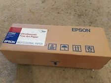 "Epson UltraSmooth Fine Art Paper 250 g 17"" x 7 ft 250g/m2 15mil White S041782-S"