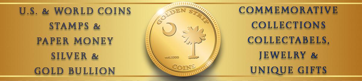 Golden Strip Coins