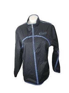 NIKE Golf Womens 1/4 Zip Pullover Lightweight Windbreaker Jacket Black L 12-14