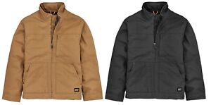 MEN'S TIMBERLAND PRO® BALUSTER  Insulated Canvas Work Jacket Black / Wheat
