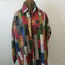 Vintage Roaman's Button-Up Shirt Size Large