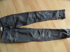 CHIPIE schöne slim fit Jeans PERL grau Gr. 10 J TOP  KJ1