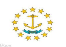 RHODE ISLAND FLAG 5FT X 3FT (USA)