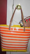 NINE WEST Can't Stop Shopper Tote Bag Multicolor Sz Large  -  NWT $89