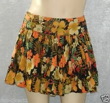 Look Summer skirt crinkle cotton effect size 16 UK NWT