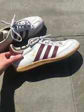 ADIDAS ORIGINALS SAMBA OG Red/white/GUM  SNEAKERS MEN'S SIZE 8.5 Used