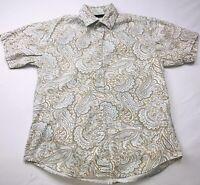 Positano Womens Button-up Shirt Sz S Short Sleeve Casual Dress