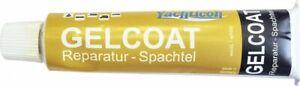Yachticon Gelcoat Reparatur Spachtel Weiß 70 g Holz Metall Kunststoffe