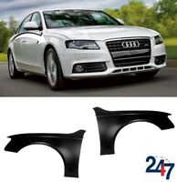 NEW AUDI A4 S4 B8 PRE FACELIFT 2007-2011 FRONT WING FENDER LEFT RIGHT PAIR SET