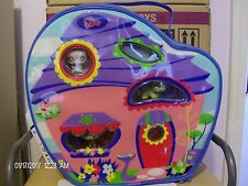 Littlest Pet Shop Vinyl Carrying/Traveling Case ~ Panda Monkey & Iguana NIB