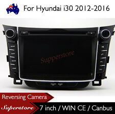 "7"" Car DVD Nav GPS Stereo Head Unit For Hyundai i30 2012-2016 Model"