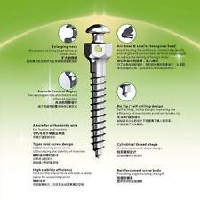 30 X Sino Dental Orthodontic Mrico Implant Mini Screws 1.6 x 12