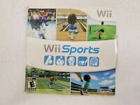 SHIPS TODAY! Wii Sports Nintendo Wii  Game+Sleeve Free Fast Shipping