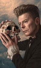 "MX03596 David Bowie - 1947-2016 English Popular Music Singer 14""x23"" Poster"