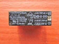 Takamisawa JS24-K Relay 24VDC 10A