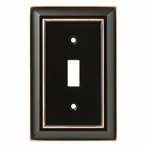 W10087-VBC Architect Bronze w/ Copper Highlights Single Switch Cover Plate