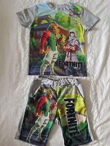 Boys Fortnite Short Pyjamas Age 6-7