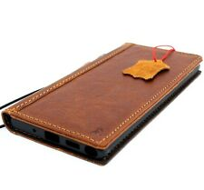 Genuine Leather Case for Samsung Galaxy Note 10 Plus Handmade Cover book Wallet