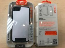 Cygnett Apollo Hybrid iPhone 5 5S 5SE Case - White/Grey Shock Absorbent