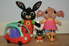 Bing, Sula Soft Toys, Bing, Flop Figures with Car