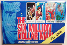 "Six Million Dollar Man Board Game Box 2"" x 3"" MAGNET Refrigerator Locker Retro"