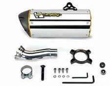 Ninja 250R Two Brothers Aluminum Slip On M-2 Canister Muffler Tail Exhaust Pipe