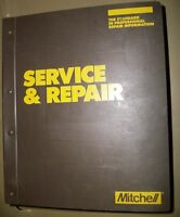 Mitchell Emission Control Service Repair Imported Cars Trucks, 1987-88 Vol.4