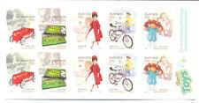 Australia-Classic Toys booklet mnh (3280-4) Barbie doll- Cars