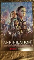 """Annihilation movie poster (b)  - 11"""" x 17""""  - Natalie Portman,"""