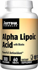 Jarrow Formulas Alpha Lipoic Acid, 100 MG, 60 Tablets(On Sale, Short Date)