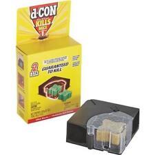 d-CON Corner Fit Mouse Poison Bait Station, 1 Trap + 2 Bait Refills ~WORLDWIDE